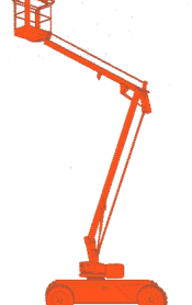 Zelfrijdende Knikarm hoogwerker – 10m