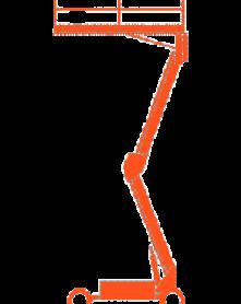 Schaarhoogwerker – 10m 4×4 diesel